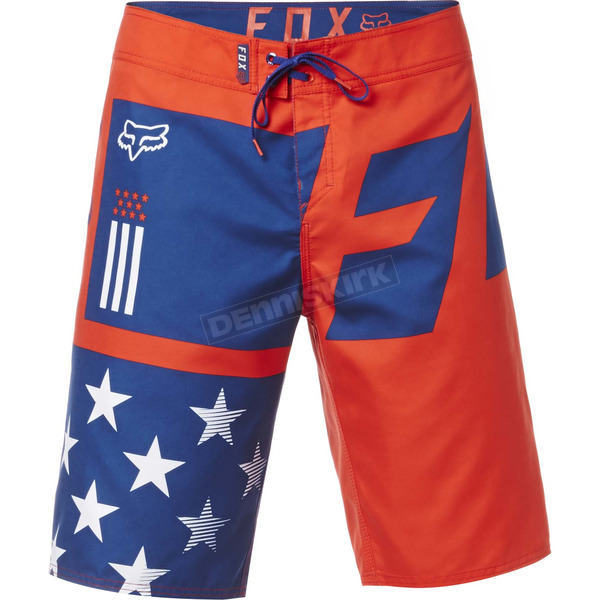 Fox Youth Red, White And True Boardshorts - 20730-003-28