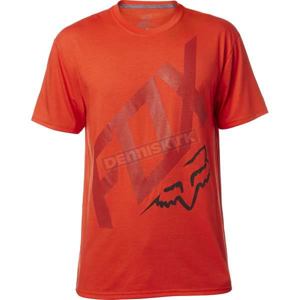 Fox Flame Red Closed Circuit Tech T-Shirt - 18837-122-2X