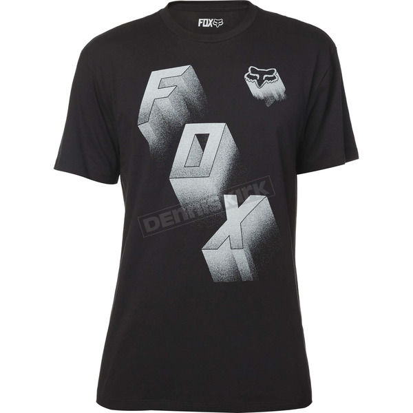Fox Black Convinced T-Shirt - 19235-001-2X