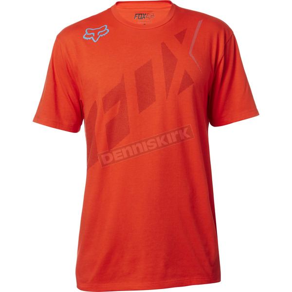 Fox Flame Red Seca Wrap T-Shirt - 18809-122-2X