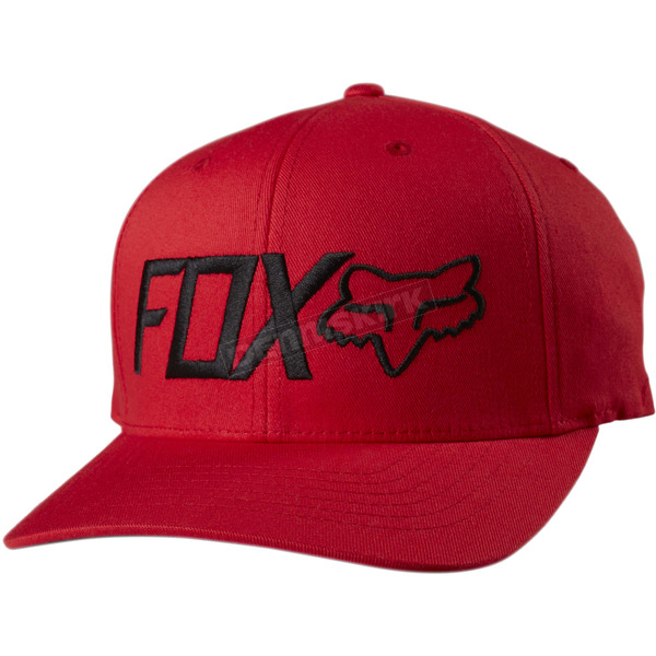 Fox Flame Red Draper FlexFit Hat - 18734-122-S/M