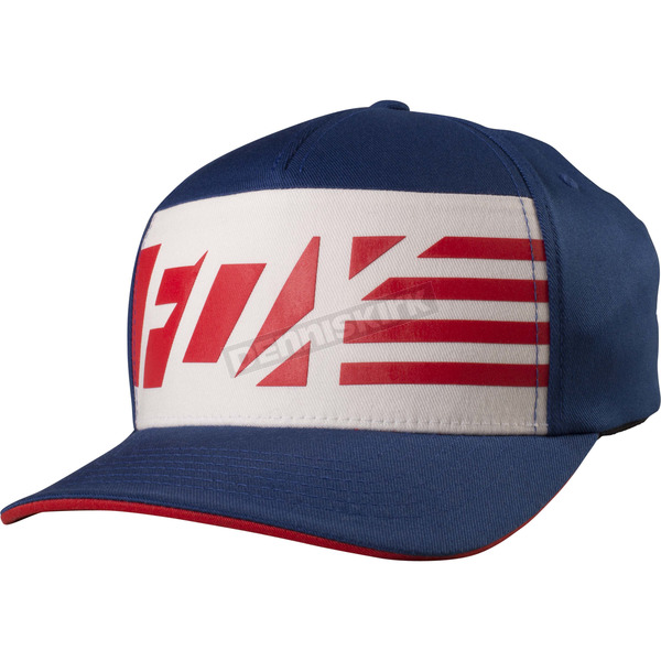 Fox Blue Red, White And True FlexFit Hat - 19191-002-L/XL