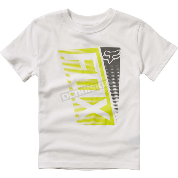 Fox Youth White Rochinsky T-Shirt - 19874-008-YXL