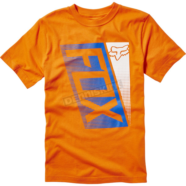 Fox Youth Orange Rochinsky T-Shirt - 19874-009-YS