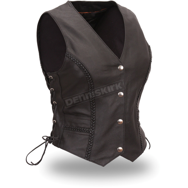 First Manufacturing Co. Women's Black Trinity Vest - FIL-508-CFD-M