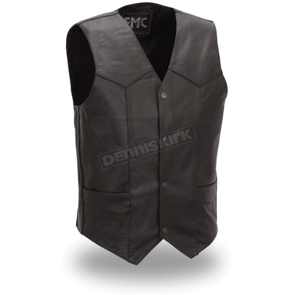 First Manufacturing Co. Black Top Shot Vest - FMM-601-BM-5X-2X