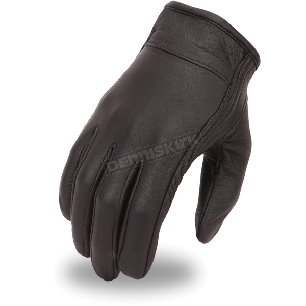 First Manufacturing Co. Black FI132GEL Gloves - FI-132-GEL-2X