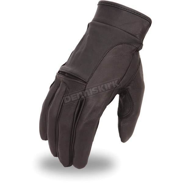 First Manufacturing Co. Black FI142GL Gloves - FI-142-GEL-2X
