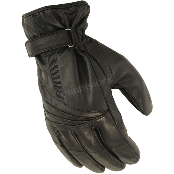 First Manufacturing Co. Black FI154GL Gloves - FI-154-GL-M