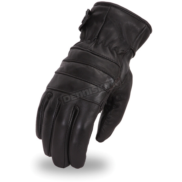 First Manufacturing Co. Black FI174GL Gloves - FI-174-GL-3X