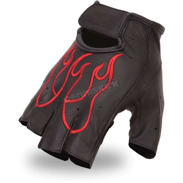 First Manufacturing Co. Red FI166GEL Gloves - FI-166-GEL-RD-2X