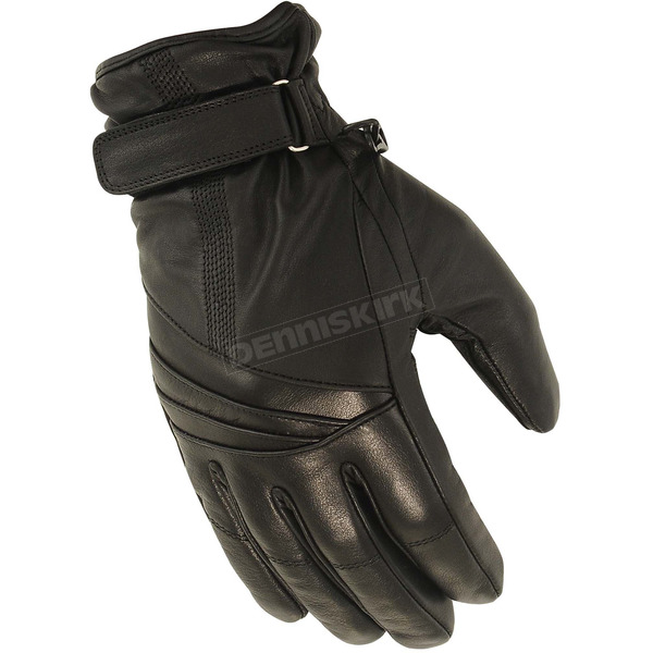 First Manufacturing Co. Women's Black FI121GL GLoves - FI-121-GL-L