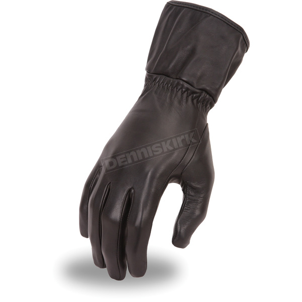 First Manufacturing Co. Women's Black FI122GL Gloves - FI-122-GL-S