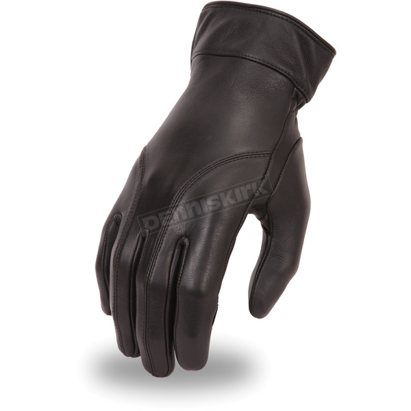 First Manufacturing Co. Women's Black FI114GEL Gloves - FI-114-GEL-2X