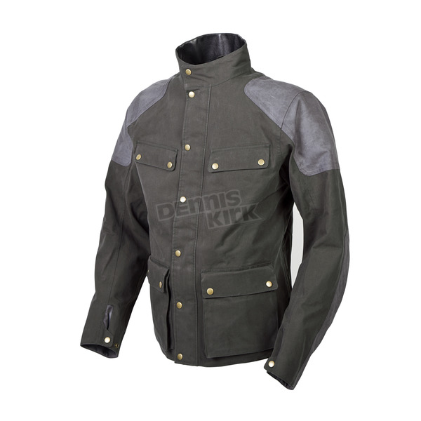 Scorpion Green Birmingham Jacket - 14502-4