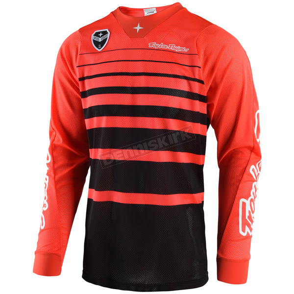 Troy Lee Designs Orange/Black SE Air Streamline Jersey - 302404723