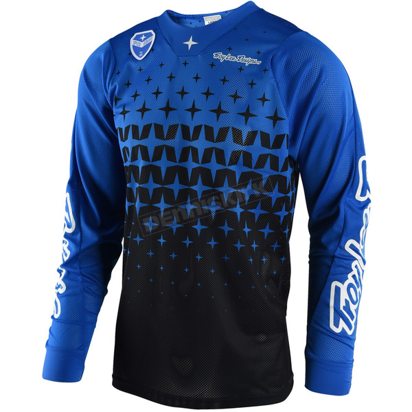 Troy Lee Designs Blue/Black SE Air Megaburst Jersey - 302489326