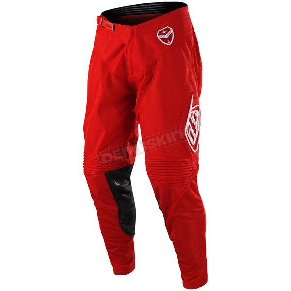 Troy Lee Designs Red SE Solo Pants - 203487405