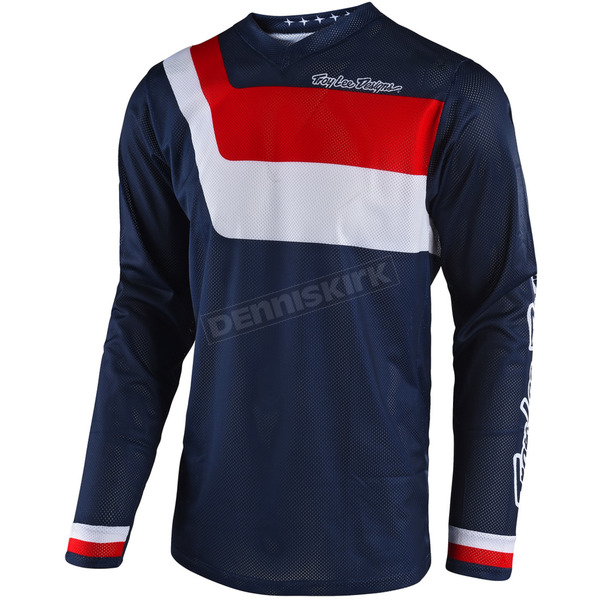 Troy Lee Designs Navy GP Air Prisma Jersey - 304493306