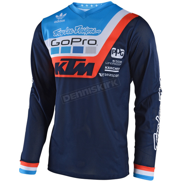 Troy Lee Designs Navy GP Air Prisma Team Jersey - 304494306