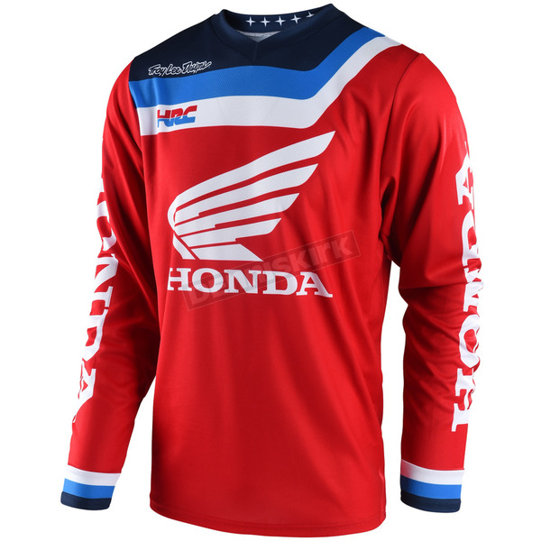 Troy Lee Designs Red GP Air Prisma Honda Jersey - 304495402