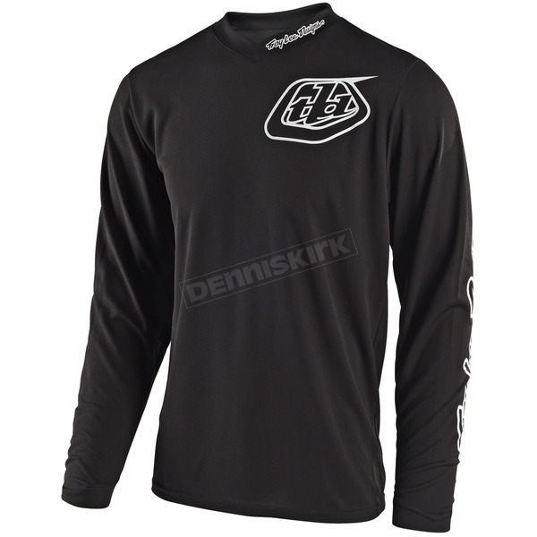 Troy Lee Designs Youth Black GP Mono Jersey - 309487205