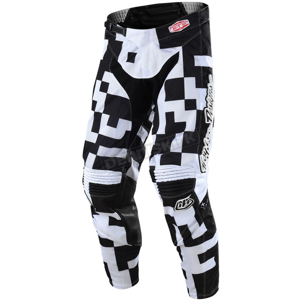 Troy Lee Designs White/Black GP Air Maze Pants - 204492125