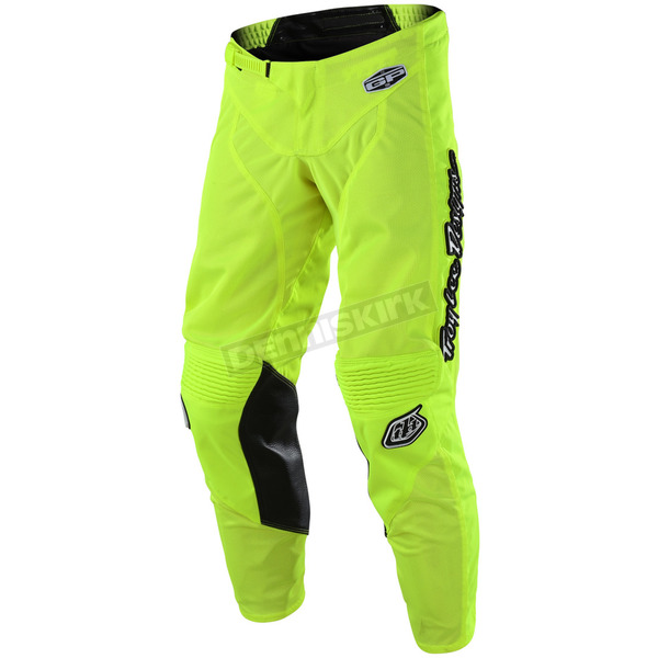 Troy Lee Designs Youth Fluorescent Yellow GP Air Mono Pants - 206487505