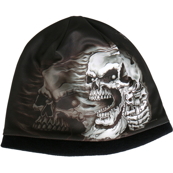 Hot Leathers Assassin Skull Beanie - KHC1017