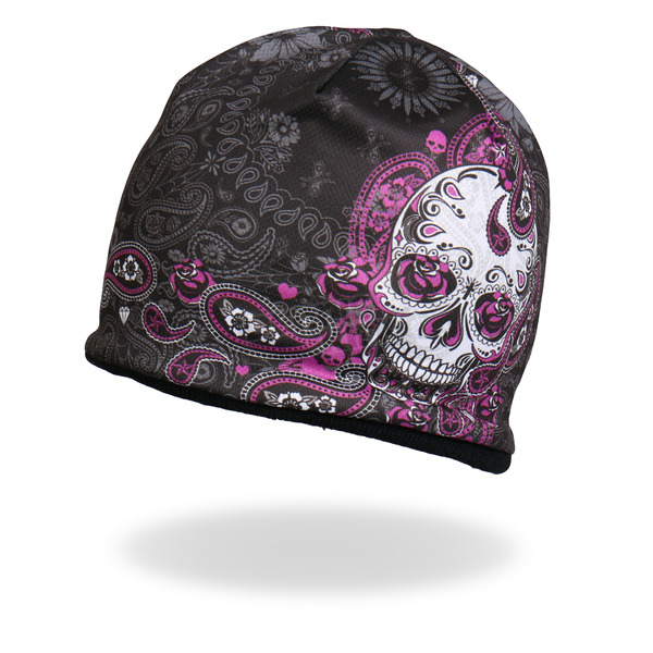Hot Leathers Sugar Paisley 2 Beanie - KHC1030