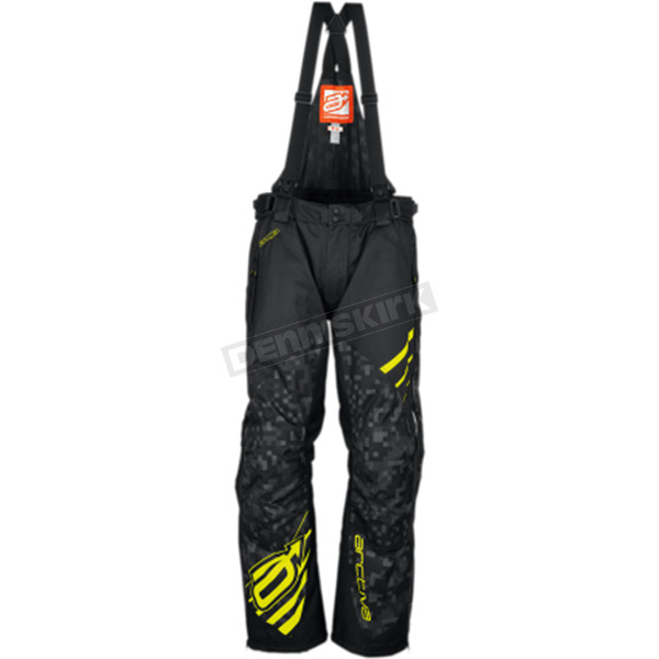 Arctiva Black/Hi Viz Comp Insulated Bibs - 3130-1153