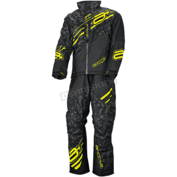 Arctiva Black/Hi Viz Comp Insulated Jacket - 3120-1722