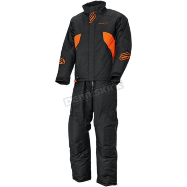 Arctiva Black/Orange Pivot Insulated Jacket  - 3120-1759