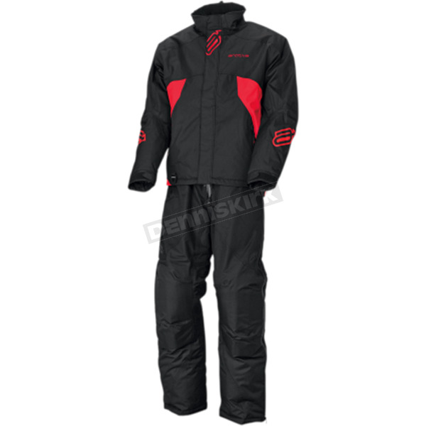 Arctiva Black/Red Pivot Insulated Jacket  - 3120-1765