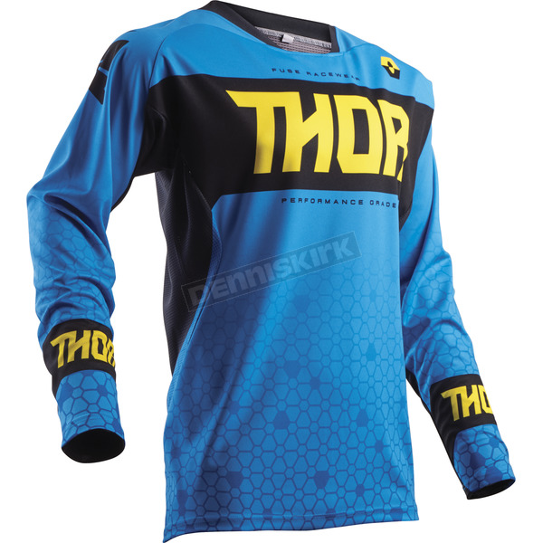 Thor Blue Fuse Bion Jersey - 2910-4302