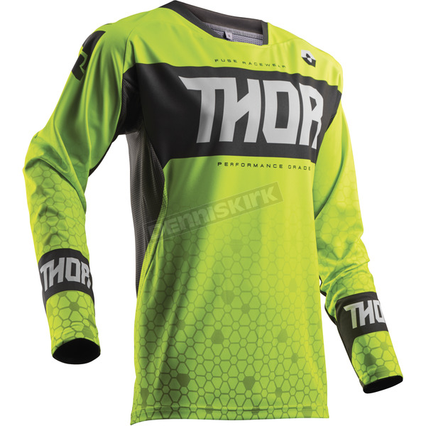 Thor Lime Green Bion Jersey - 2910-4307