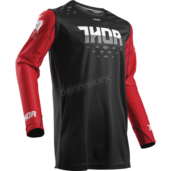 Thor Red/Black Prime Fit Rohl Jersey - 2910-4333