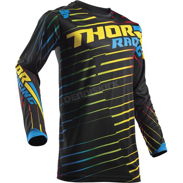 Thor Youth Multi Color Pulse Rodge Jersey - 2912-1520