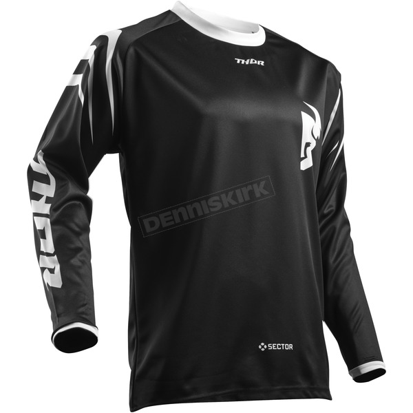 Thor Youth Black Sector Zones Jersey  - 2912-1542