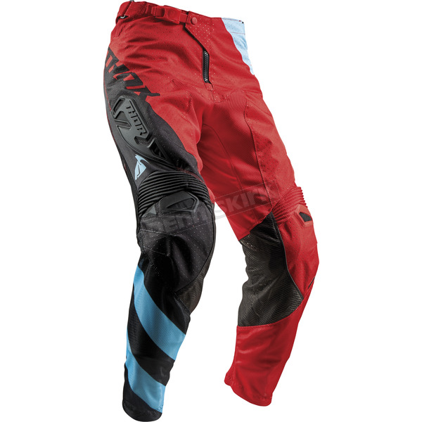 Thor Red/Blue Fuse Air Rive Pants - 2901-6442