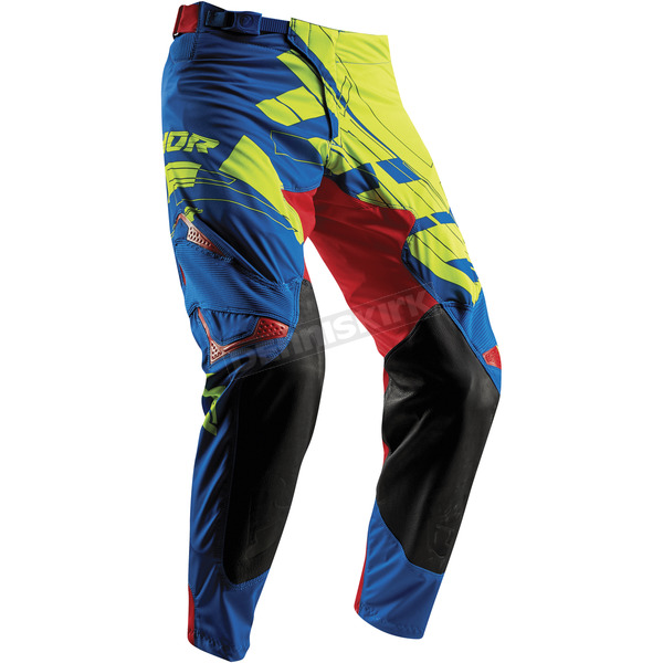 Thor Lime/Blue Prime Fit Paradigm Pants  - 2901-6452