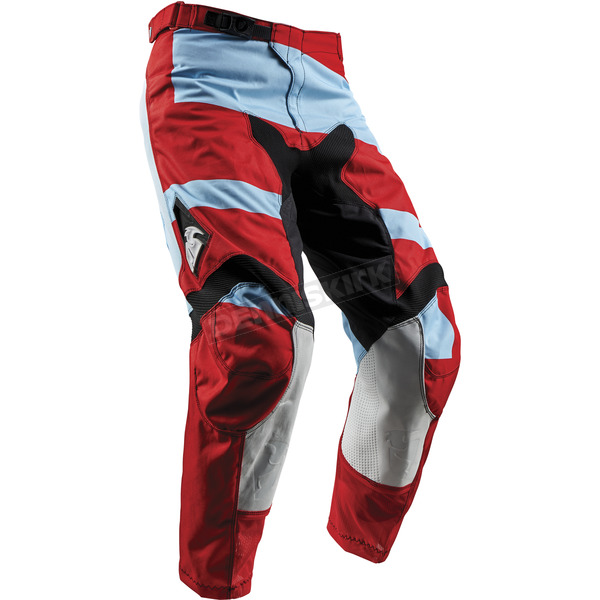 Thor Powder Blue/Red Pulse Level Pants - 2901-6484