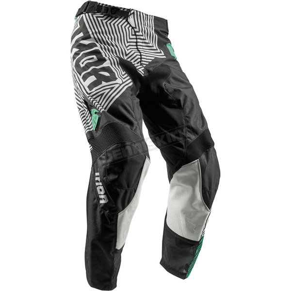 Thor Black/Teal Pulse Geotec Pants - 2901-6508
