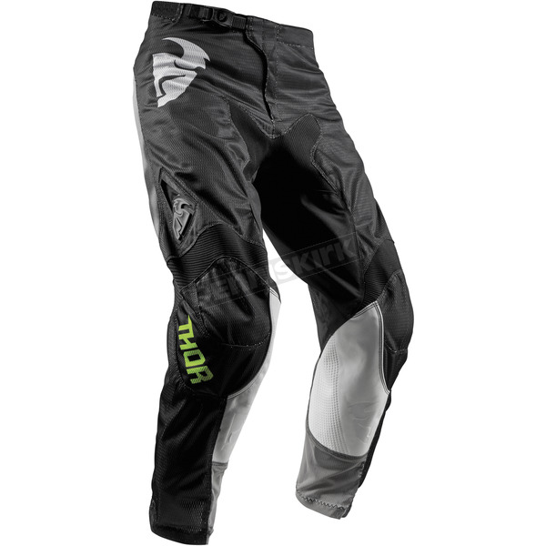 Thor Youth Black Pulse Air Radiate Pants - 2903-1564