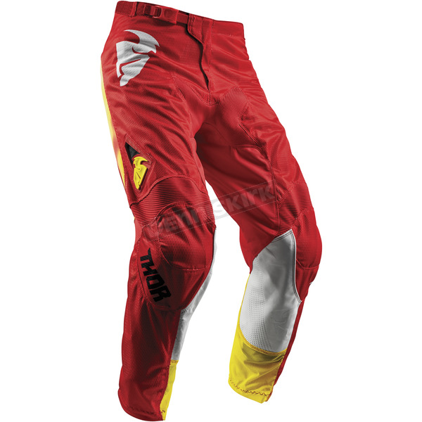 Thor Youth Red Pulse Air Radiate Pants - 2903-1573