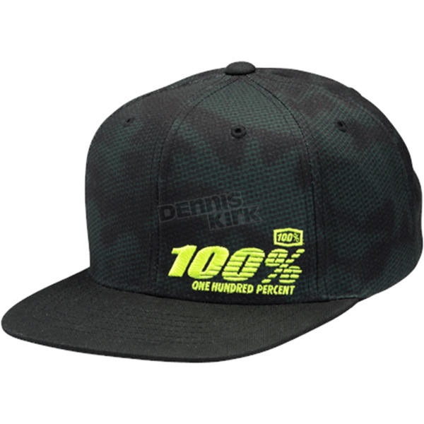 100% Youth Camber Twill Snapback Hat - 20047-064-00