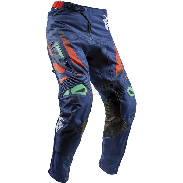 Thor Navy/Teal/Orange Fuse Rampant Pants - 2901-6559