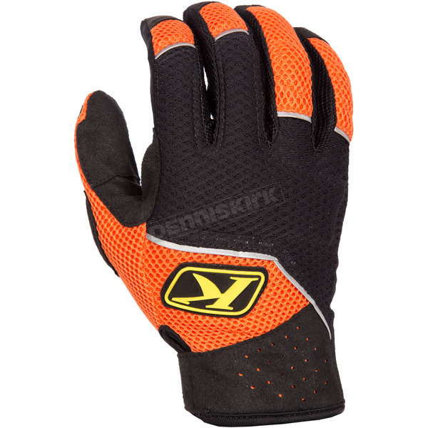 Klim Black/Orange Mojave Gloves - 3168-002-130-400