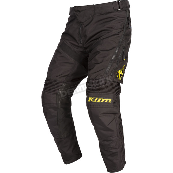 Klim Black Dakar In-the-Boot Pants - 3182-003-038-000