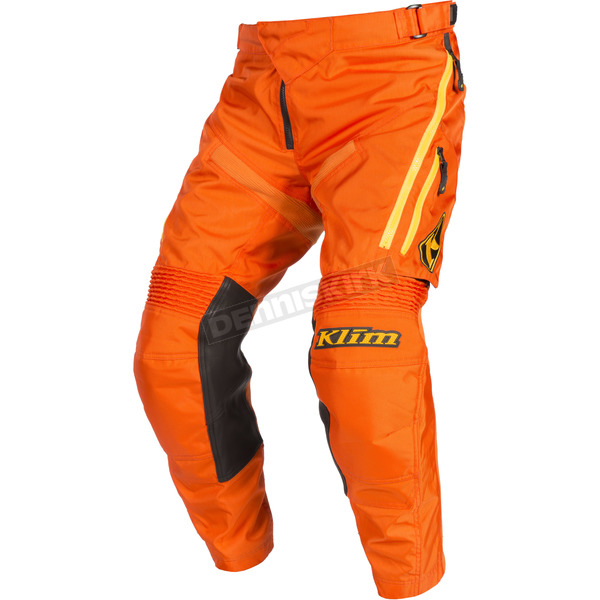 Klim Orange Dakar In-the-Boot Pants - 3182-003-030-400